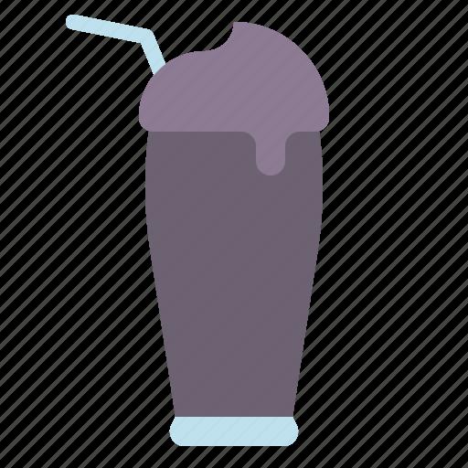 beverage, blueberry, drink, smoothie, yogurt icon