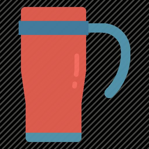 beverage, cold, hot, mug, travel icon