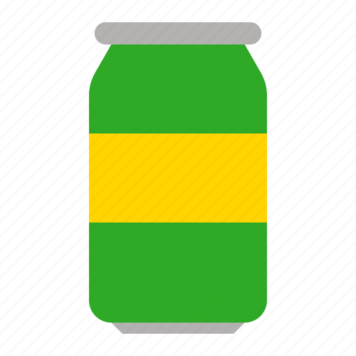beer, beverage, can, soft drink icon