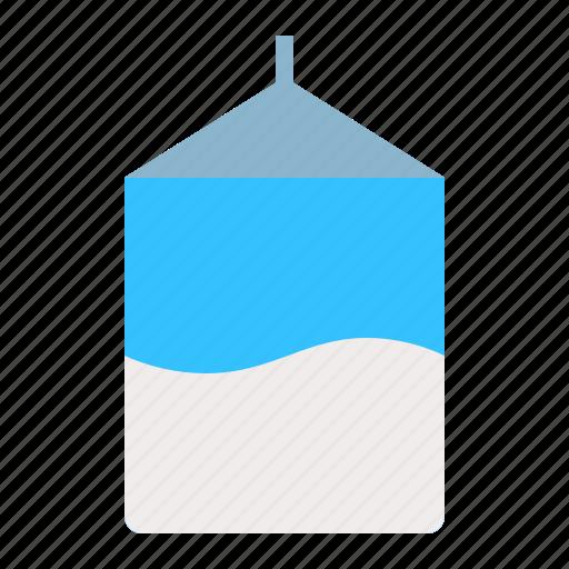 beverage, drinks, milk, milk box icon