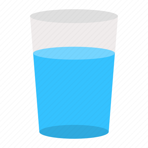 beverage, glasses, water icon
