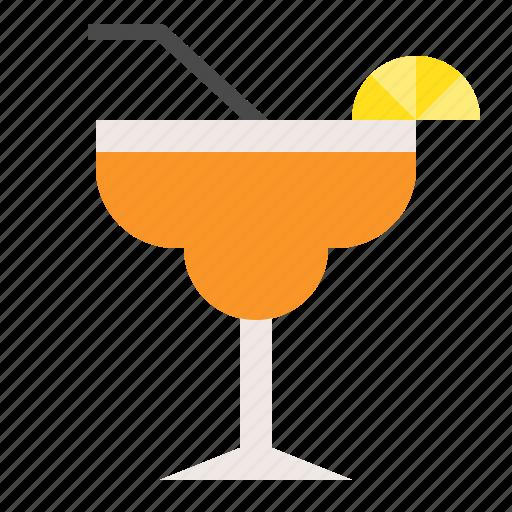 beverage, drinks, juice, mocktail, orange juice icon