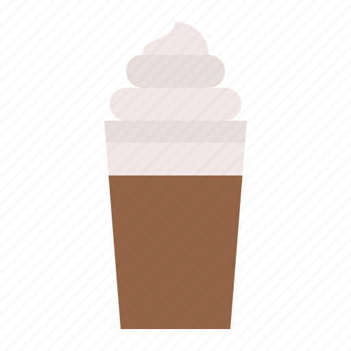 beverage, coffee, drinks, frappe icon