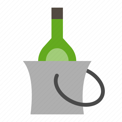 alcohol, alcoholic drink, beverage, bucket, drinks, liqueur icon