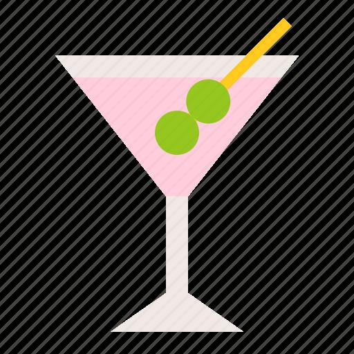 alcohol, alcoholic drink, beverage, drinks, martini icon