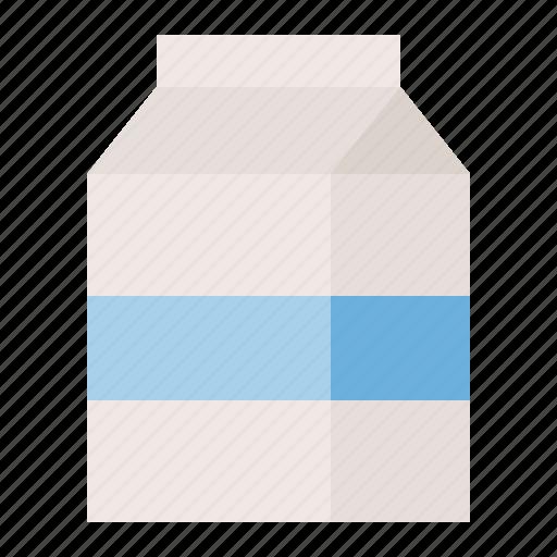 Milk box, beverage, milk, drinks icon - Download