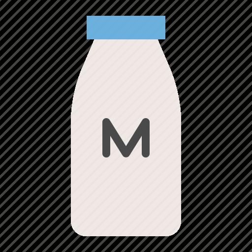 Beverage, milk bottle, milk, bottle, drinks icon