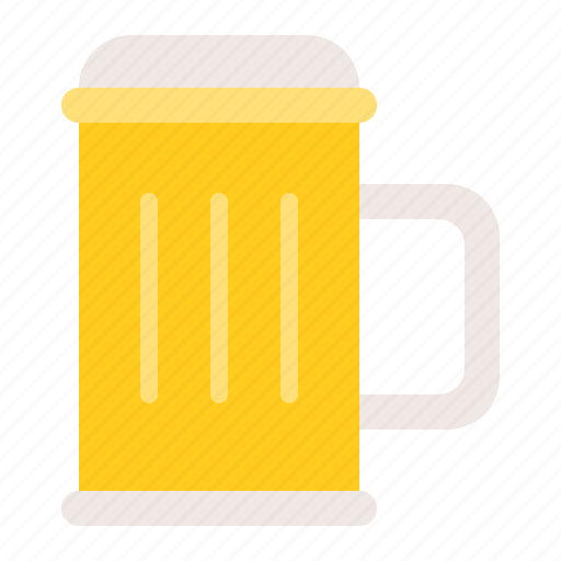 alcohol, alcoholic drink, beer, beer glass jug, beverage, drinks icon