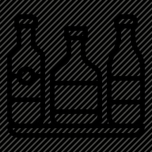 alcoholic, beverage, bottle, drink icon