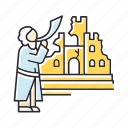 castle, fall, jericho, jerusalem, joshua, religion, ruin