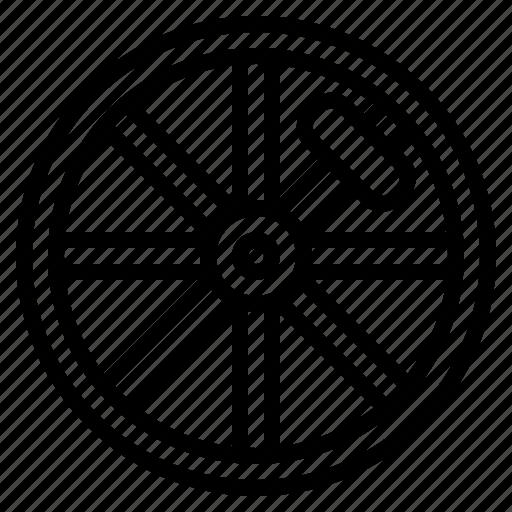 bicycle, cycle, drivetrain, tire, wheel icon