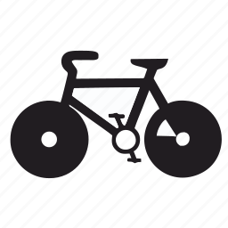 bicycle, bike, cycle, exercise, fitness icon