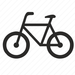 bicycle, bike, cycle, exercise, fitness icon