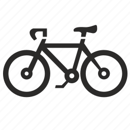 bicycle, cycle, exercise, fitness icon