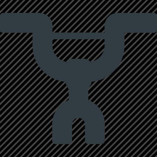 bicycle, component, grip, handlebars, steering, wleel icon
