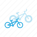 bicycle, bike, bmx, cycle, cycling, sport, transportation icon