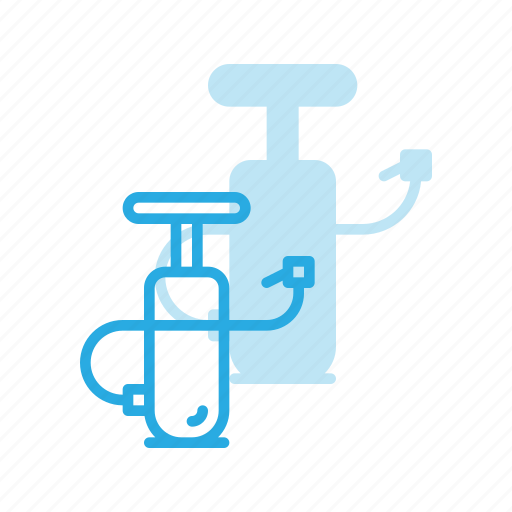 air, bicycle, bike, cycle, cycling, equipment, pump icon