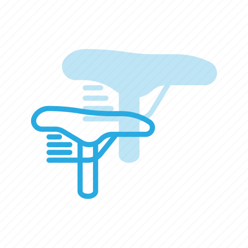bicycle, bike, component, cycling, seat icon