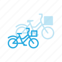 bicycle, bike, city, cycle, sport, transportation, urban icon