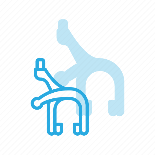bicycle, bike, brake, caliper, component, deceleration icon