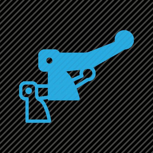 bicycle, brake, component, deceleration, derailleur, rear icon