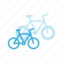 bicycle, bike, cycle, mountain, sport, transportation icon