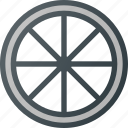 bicycle, bike, component, rear, wheel