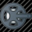 bicycle, bike, chainwheel, component, drivetrain