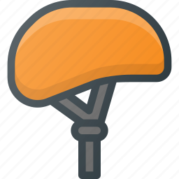 bicycle, bike, cycling, equipment, helmet, ride, safety icon