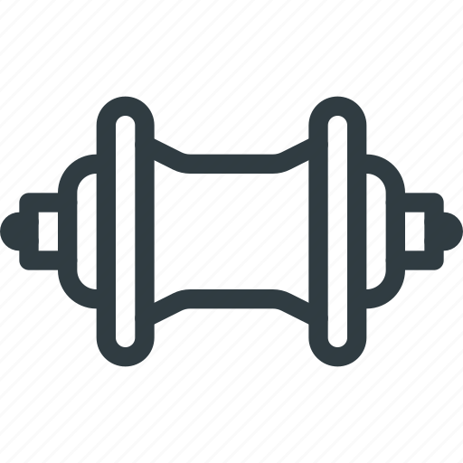 bicycle, bike, component, hub, rear, wheel icon