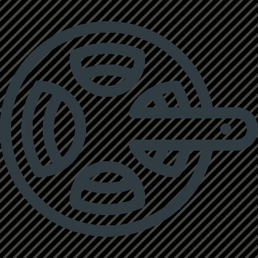 bicycle, bike, chainwheel, component, drivetrain icon