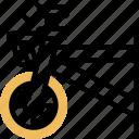 basket, rack, bicycle, groceries, carry