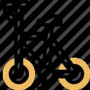 bike, cyclist, riding, racing, vehicle