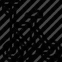 bike, cyclist, riding, racing, vehicle icon
