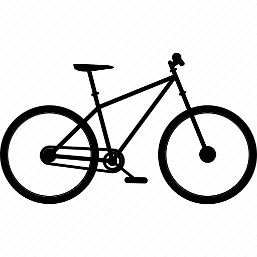 bicycle, bicycles, bike, cross country bike, travel icon