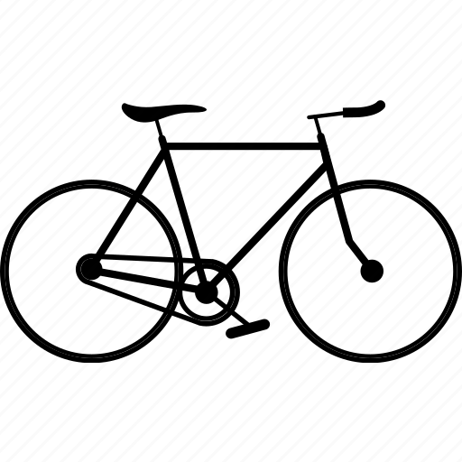 bicycle, bicycles, bike, fixie, road bike, travel, triathlon icon