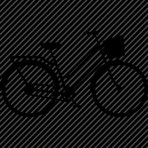 bicycle, bicycles, bike, retro, retro uptown bike, travel icon