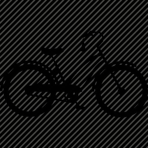 bicycle, bicycles, bike, cruiser bike, retro bike, travel icon