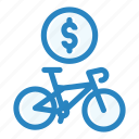 bicycle, purchase, sale, shop, sport, store, vehicle icon