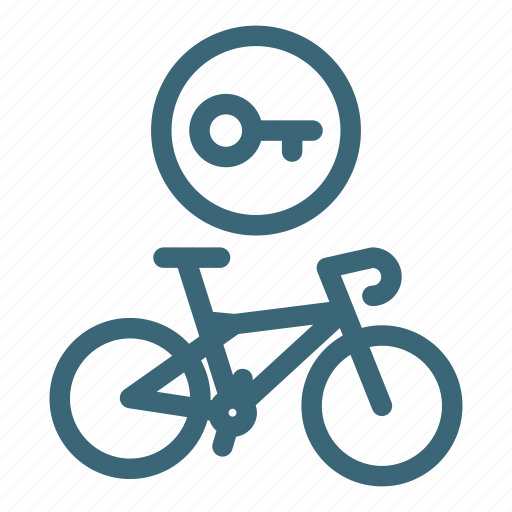 bicycle, bike, equipment, lock, protection, safety, security icon