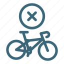 bicycle, bike, lifestyle, purchase, remove, sport icon