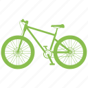 bicycle, transportation, vehicle icon