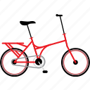 bicycle, bicycles, bike, bikes, folding bike, travel icon