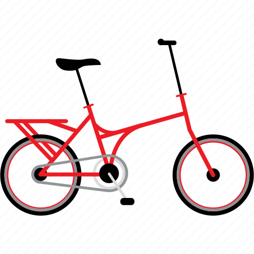bicycle, bicycles, bike, bikes, folding bike, travel icon