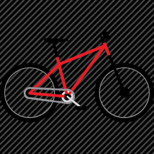 bicycle, bicycles, bike, bikes, cross country bike, travel icon