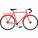 bicycle, bicycles, bike, bikes, touring bike, travel icon