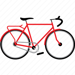 bicycle, bicycles, bike, bikes, touring bike, travel icon