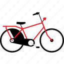 bicycle, bicycles, bike, bikes, city, electric, travel icon