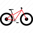 beach bike, bicycle, bicycles, bike, bikes, fat bike, snow bike, travel icon