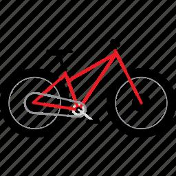 beach bike, bicycle, bicycles, bike, bikes, fat bike, snow bike, travel icon
